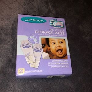 Lansinoh Breastmilk Storage Bags NIB
